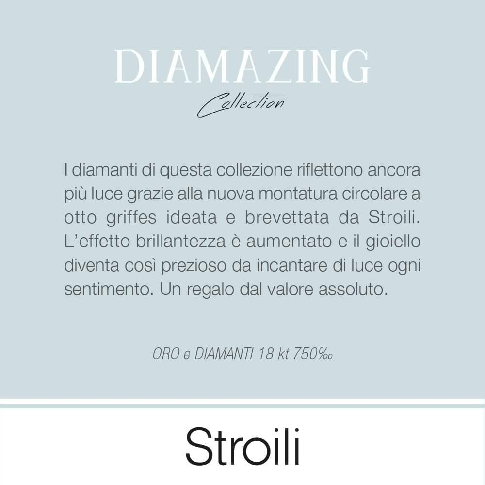 Trilogy Diamazing in oro bianco e diamanti 0,42 ct