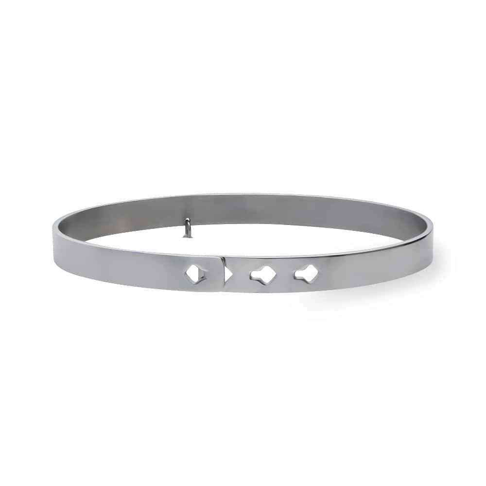 Bangle in acciaio con strass When someone says you can't do it. Do it twice.